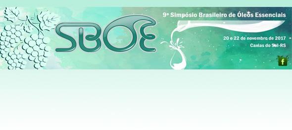 9º Simpósio Brasileiro de Óleos Essenciais (SBOE)