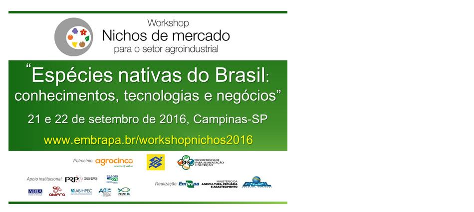 EMBRAPA: Workshop de Nichos de Mercado para o Setor Agroindustrial